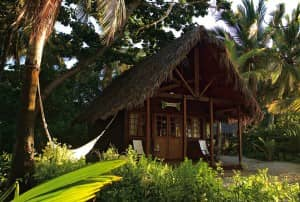 Beach bungalow at Lodge Tsarabanjina