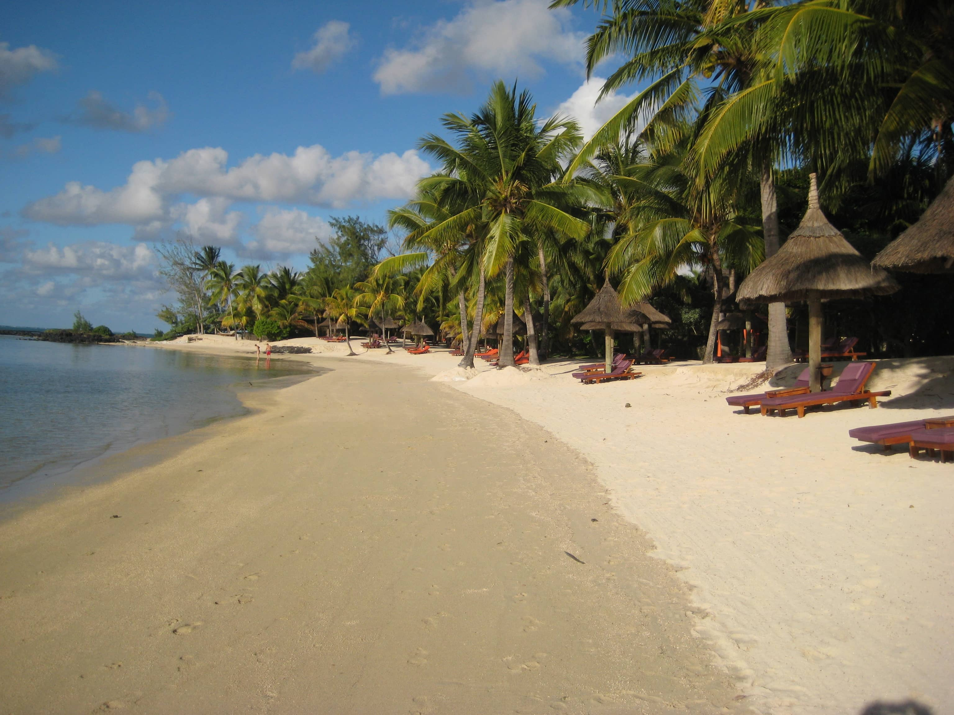 Beach at Le Prince Maurice