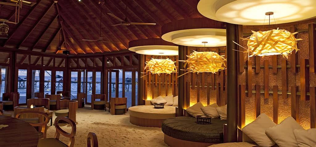 Jahaz restaurant at Constance Halaveli Resort, Maldives