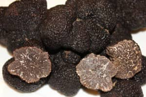 Delectable black truffles