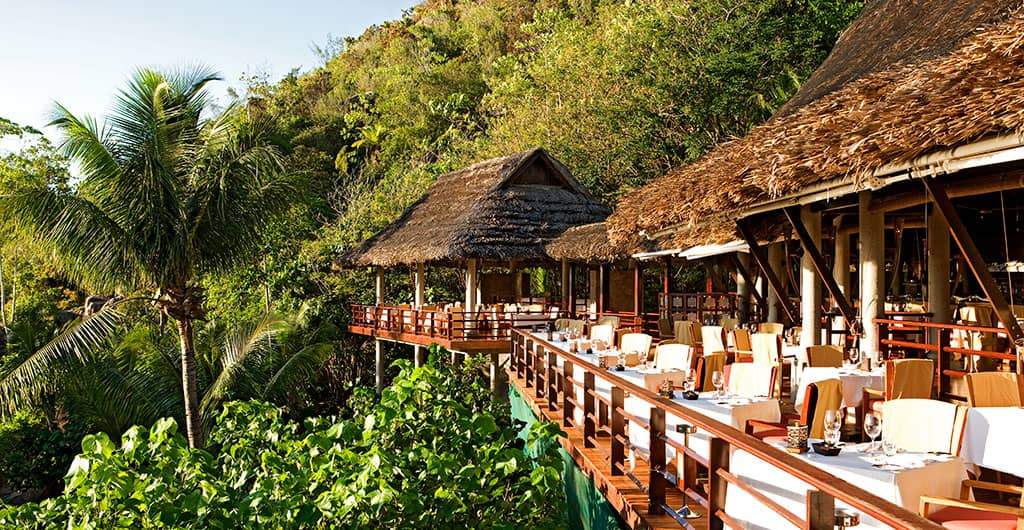 Legend Restaurant at Constance Lemuria Resort, Seychelles