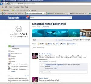 Constance Hotels Experience Facebook