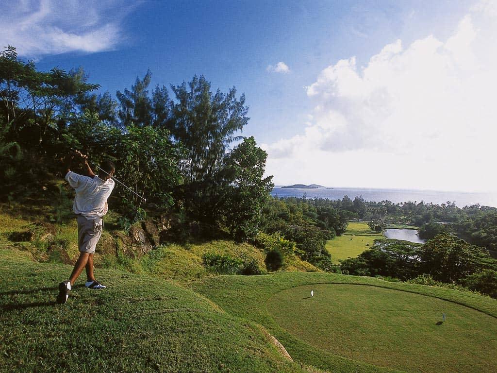 Award winning golf course at Constance Lemuria