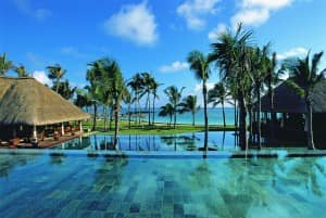 Infinity pool at Constance Belle Mare Plage