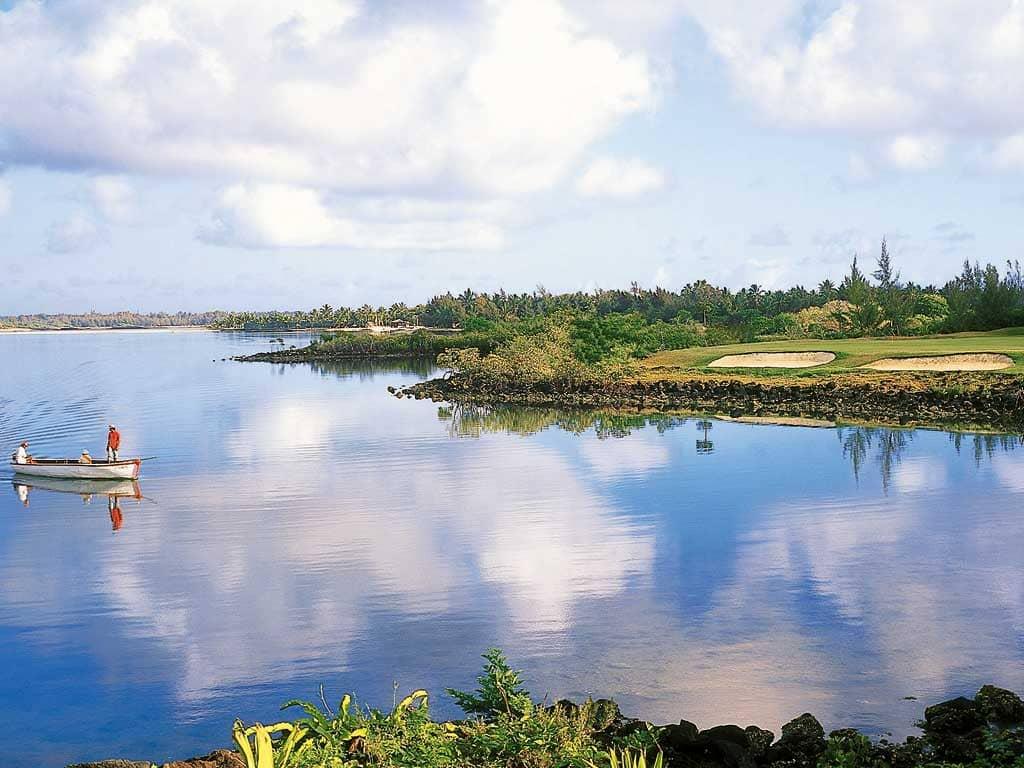 Legend golf course at Constance Belle Mare Plage, Mauritius