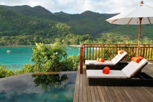 Hillside villa at Constance Ephelia Resort, Seychelles