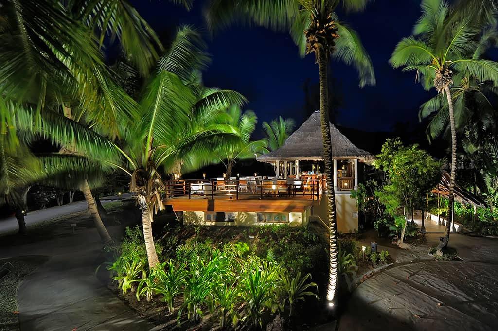 Seahorse restaurant at Constance Lemuria Resort, Seychelles