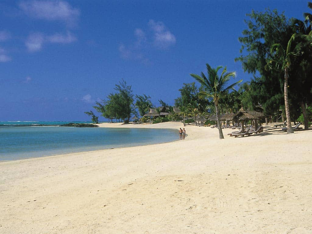 Beach at Constance Le Prince Maurice, Mauritius