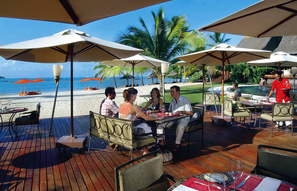 Dining at the Beach Deck, Constance Le Prince Maurice
