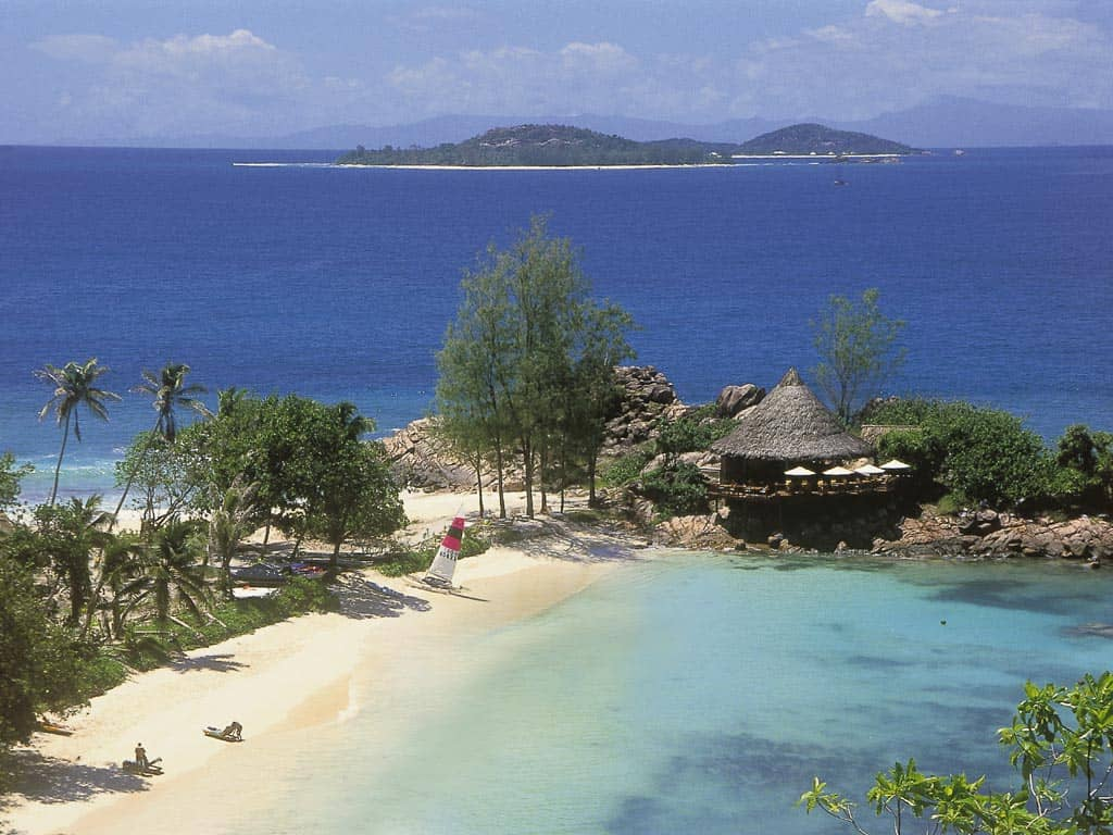 Beach Bar & Grill at Constance Lemuria Resort, Seychelles
