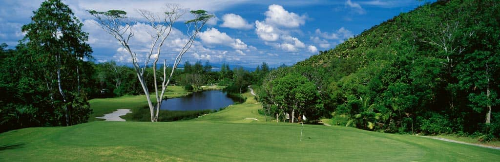 Constance Lemuria Resort, award winning golf course in Seychelles