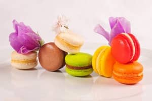 Macaroons from Constance Hotels Experience