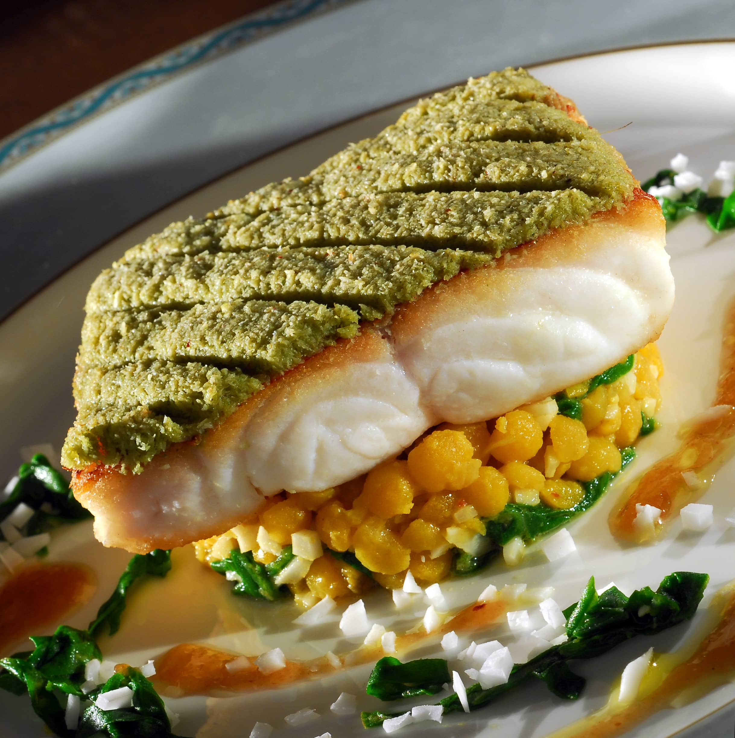Recipe fillet of red snapper roasted in a coconut chatini for Snapper fish recipes