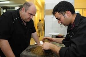 Fabrice Biasiolo and Ravish Mukri, Day 1 Trials