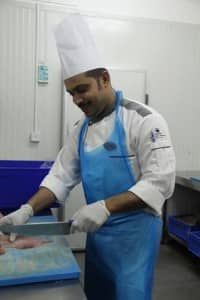 Food hygiene at Constance Halaveli Resort, Maldives