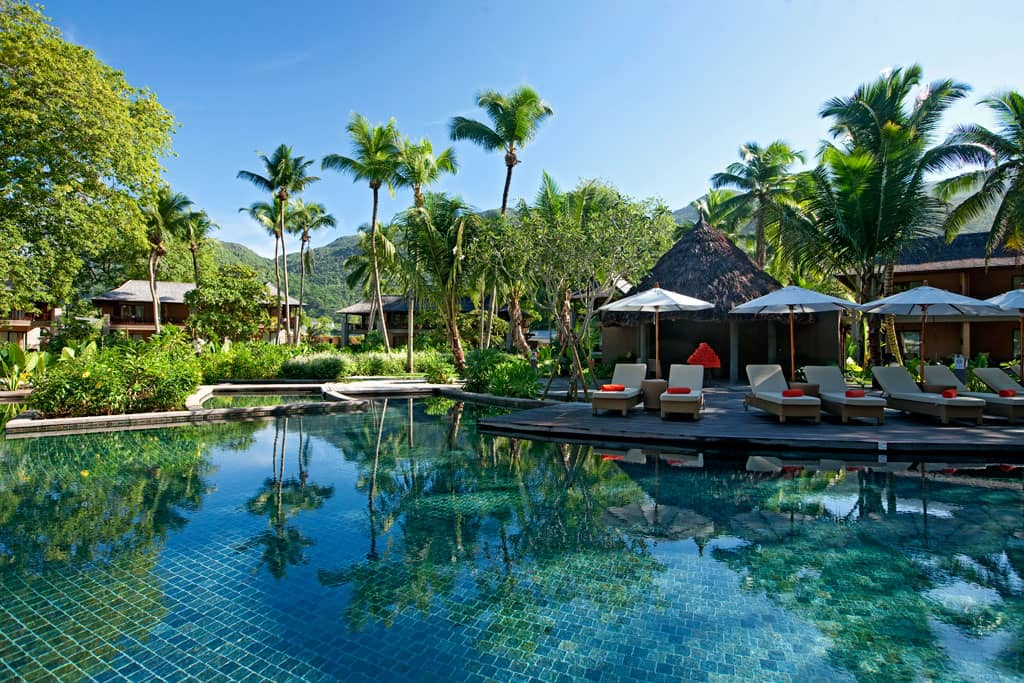 Pool at Constance Ephelia Resort, Seychelles