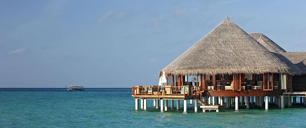 Jing restaurant, Constance Halaveli Resort, Maldives
