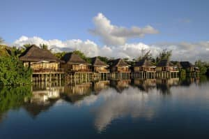 Overwater suites, Constance Le Prince Maurice, Mauritius