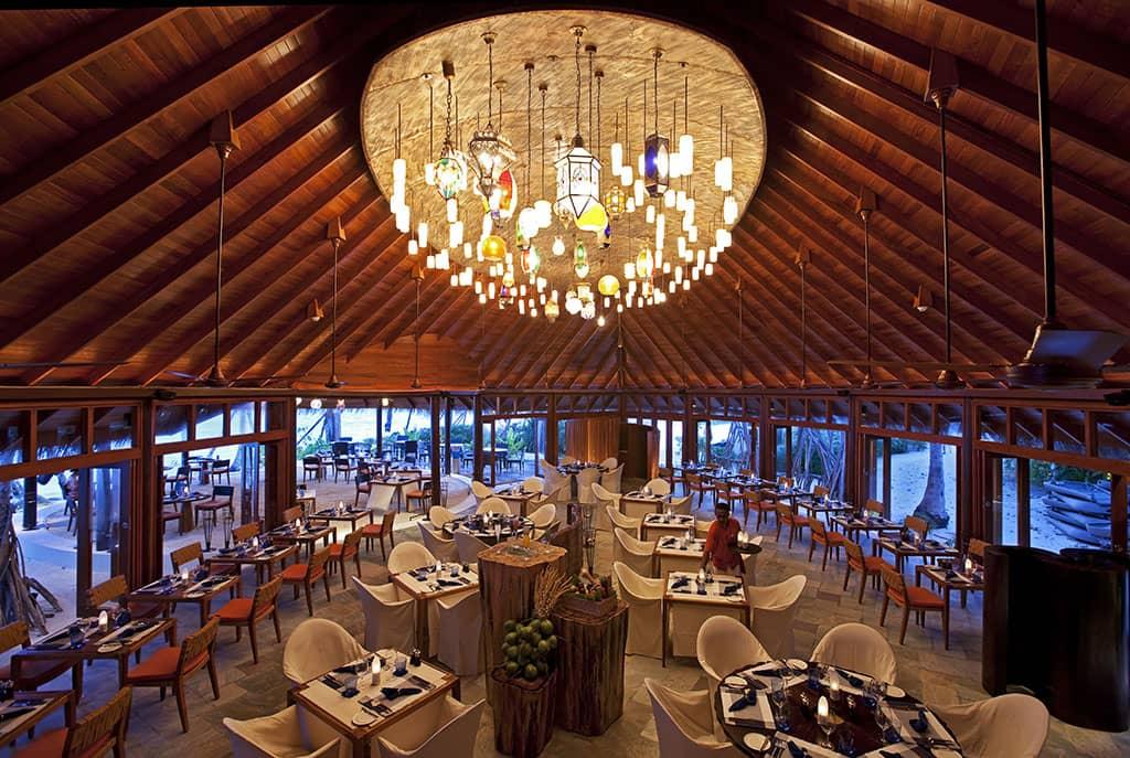 Jahaz restaurant, Constance Halaveli Resort, Maldives