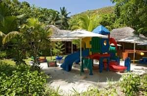 Kids club at Constance Lemuria Resort, Seychelles