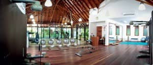 Gym at Constance Halaveli Resort, Maldives