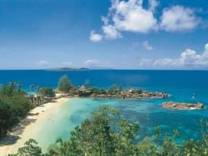 Beach at Constance Lemuria Resort, Seychelles