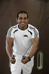 Personal trainer at Constance Halaveli Resort, Maldives