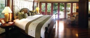 Bedroom at Villa 30, Constance Le Prince Maurice, Mauritius