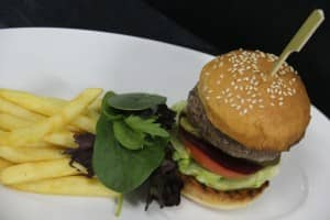 Mini burger at Constance Halaveli Resort, Maldives