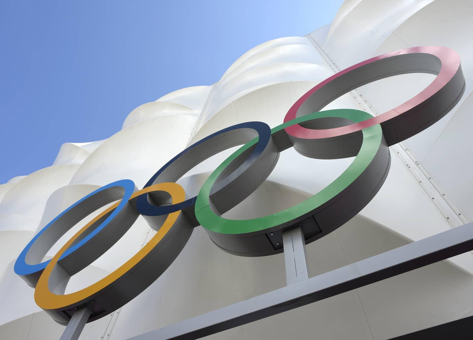 London 2012 Olympic Rings
