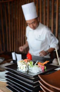 Asian Tapas at Constance Le Prince Maurice