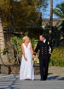 David and Carina Billam at Constance Le Prince Maurice