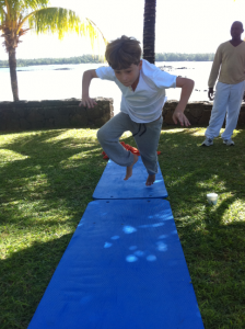 Children's yoga at Constance Le Prince Maurice