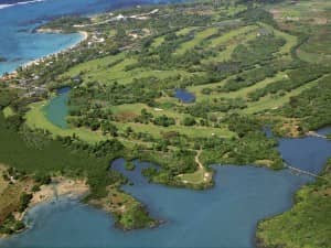 Golf courses at Constance Belle Mare Plage