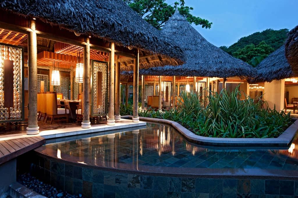 Cyann Restaurant, Constance Ephelia Resort, Seychelles