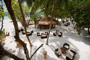 Totem Bar at Constance Moofushi Resort, Maldives