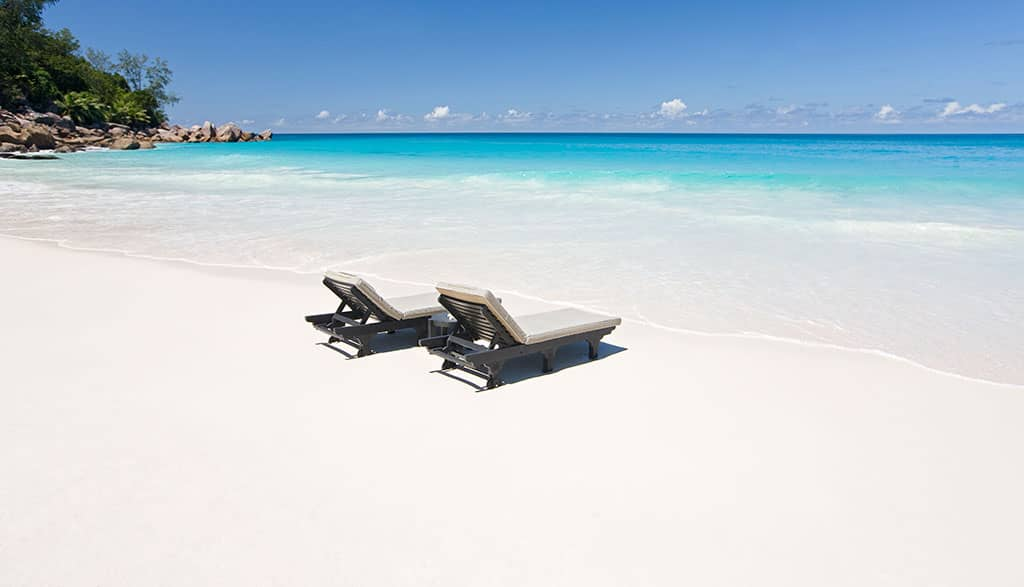 Beach at Constance Halaveli, Maldives