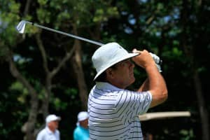 David Frost, golfer