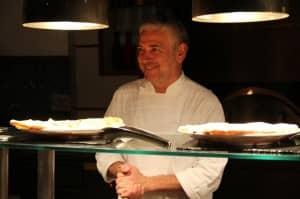 Chef Walter Ferretto at Constance Halaveli