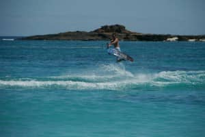 Wakeboarding in Madagascar