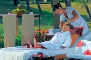 Spa for children at Constance Le Prince Maurice, Mauritius