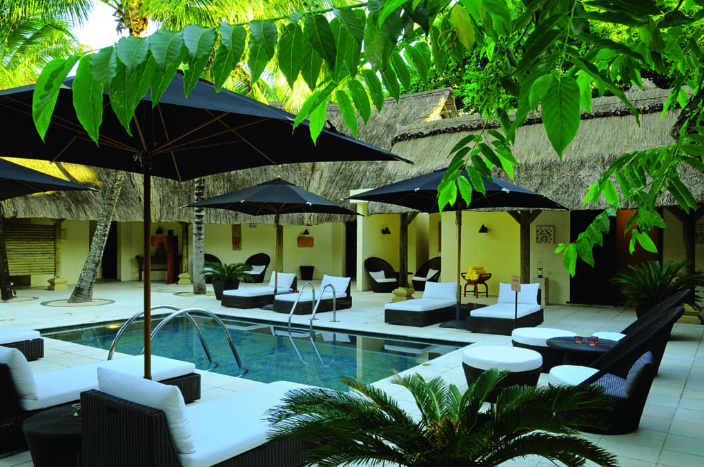 Luxury spa at Constance Le Prince Maurice, Mauritius