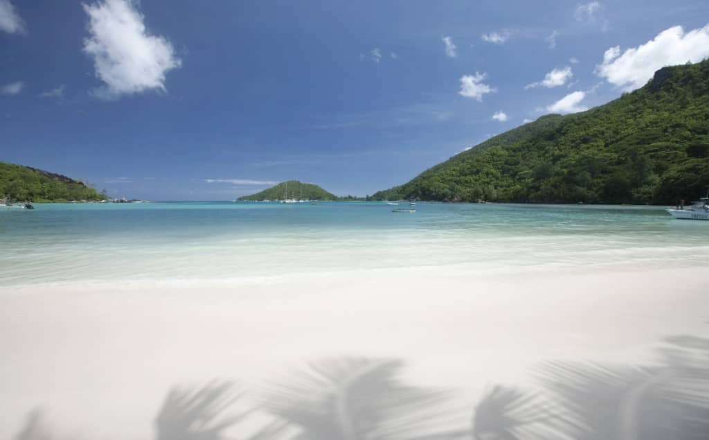 Beach at Constance Ephelia, Seychelles