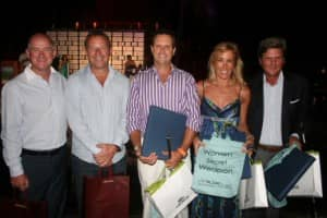 Constance Pro-Am winners (Gross) at Constance Belle Mare Plage, Mauritius