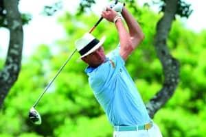 Mark Mouland, golfer