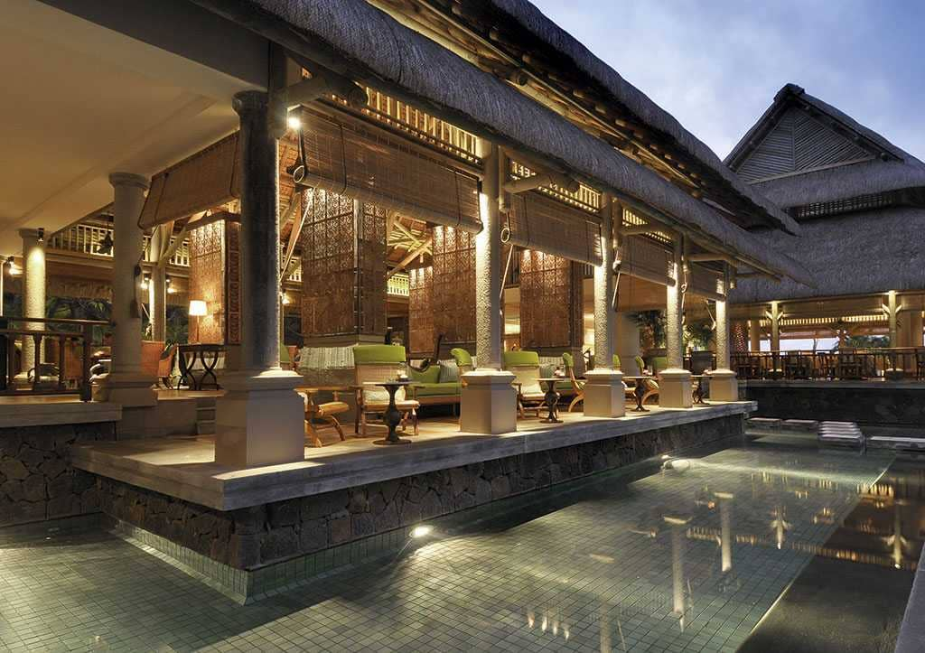 Lounge bar at Constance Le Prince Maurice, Mauritius