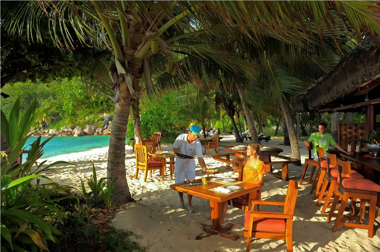 Takamaka Bar and Restaurant, Constance Lemuria, Seychelles