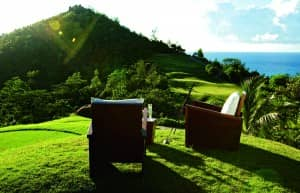 Luxury golf at Constance Lemuria, Seychelles