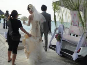 Luxury wedding at Constance Moofushi, Maldives