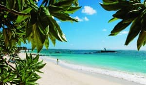 Beach at Constance Belle Mare Plage, Mauritius